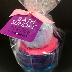 Bath Sundae Childrens Bath Bomb Cotton Candy Scent